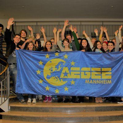 Aegee-Gruppenfoto